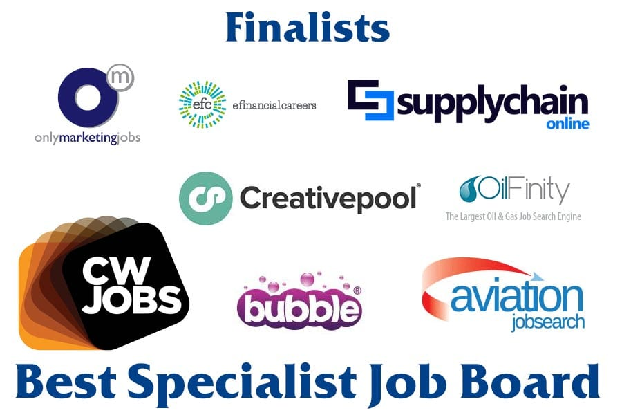 Best Specialist Job Board - National Online Recruitment Awards
